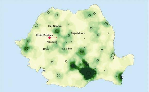 Zonele din România cu sinergiile economice cele mai mari