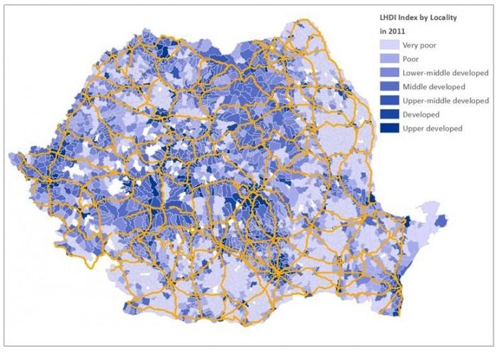 Proximitatea faţă de infrastructură majoră contează în dezvoltare