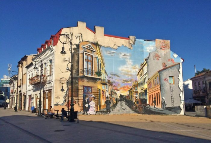 Centrul vechi al Craiovei, după modernizarea spaților publice