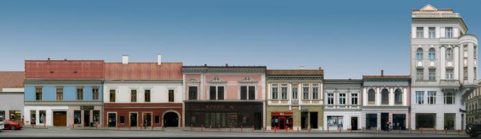 Propunere (1) pentru refațadizarea clădirilor de pe Str. Regele Ferdinand – curățarea fațadelor