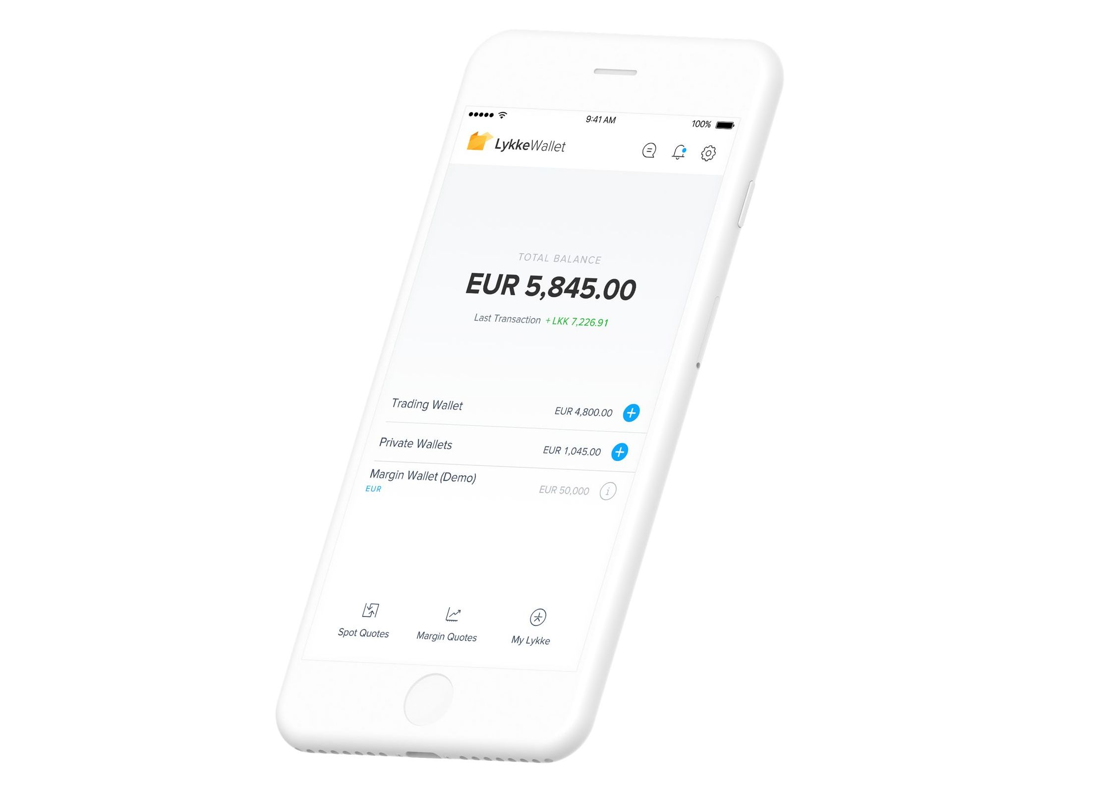 Lykke Wallet, o soluție pentru a stoca și tranzacționa activele tale prin blockchain într-un mod facil