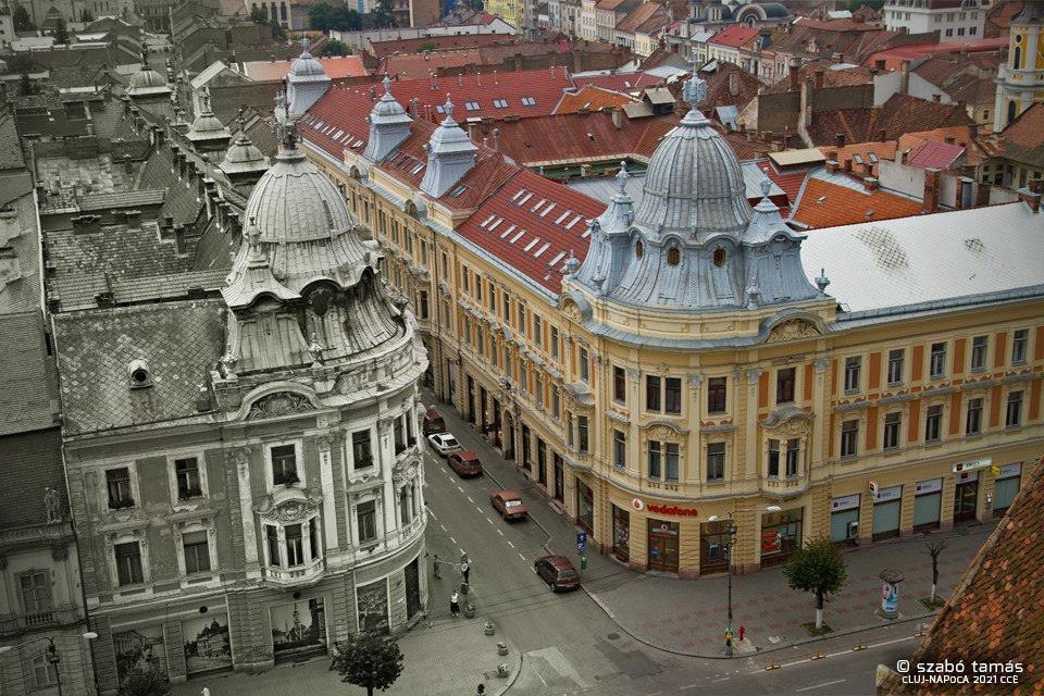 Clădirile gemene din Cluj.