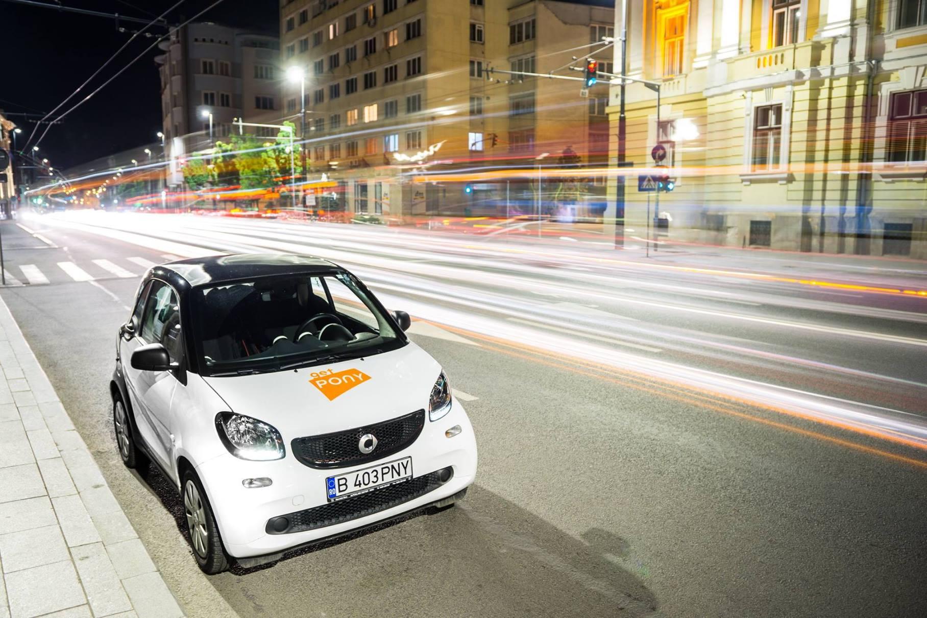 Car-sharing în Cluj, de la GetPony